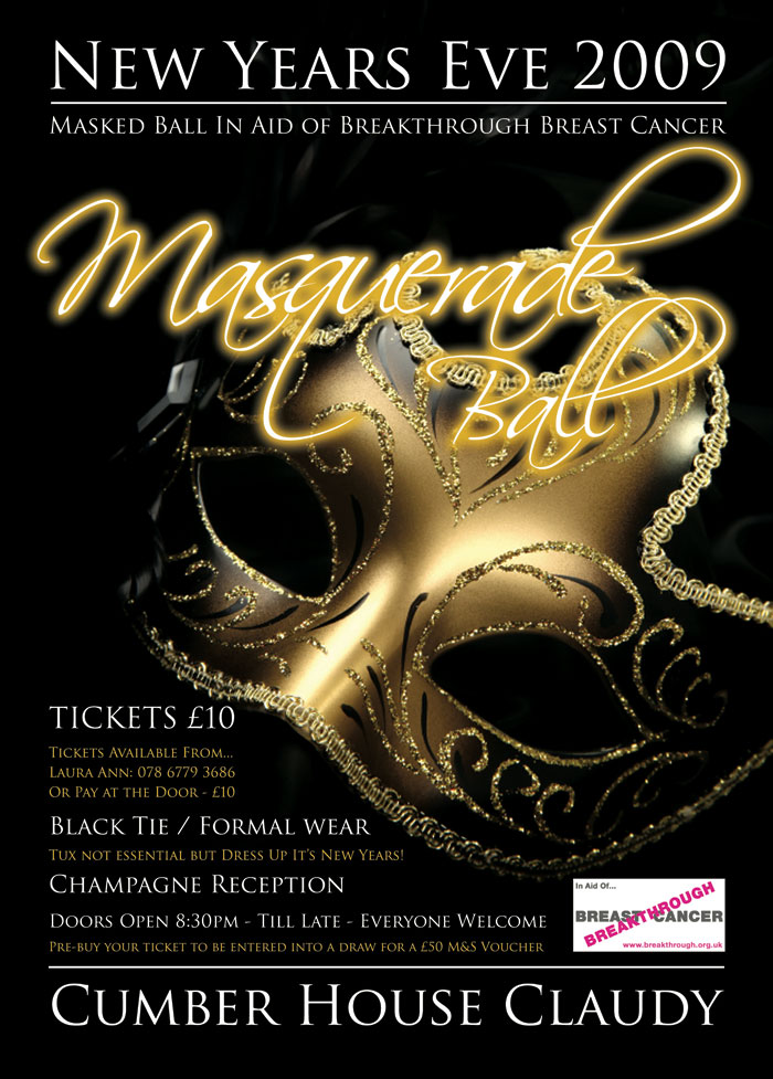Zoes Art Masquerade Ball Posters